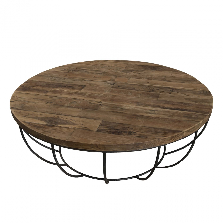 Table basse coque noire 100 x 100 cm dpi import for Table basse design 100 x 100