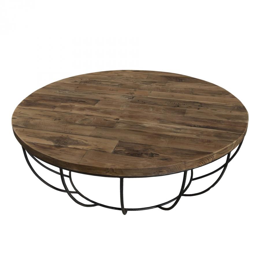 Table basse coque noire 100 x 100 cm dpi import for Table basse design 100 x 100
