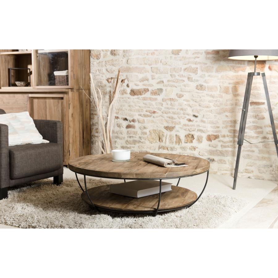 table basse coque noire double plateau 100 x 100 cm dpi import. Black Bedroom Furniture Sets. Home Design Ideas