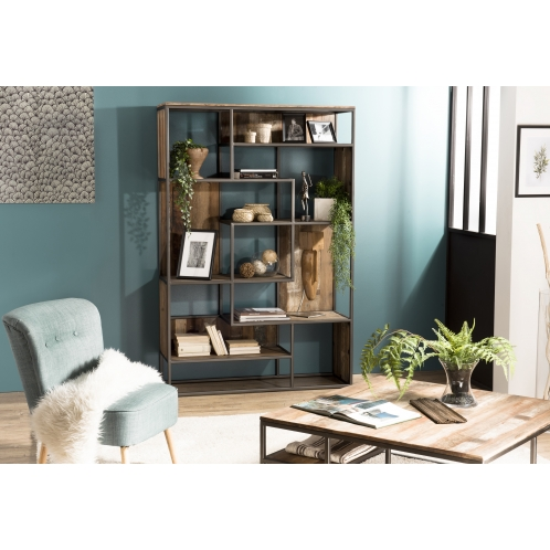 https://www.dpi-import.com/4433-thick_dpi-import/bibliotheque-6-niveaux-avec-6-open-space-teck-recycle-acacia-mahogany-et-metal.jpg
